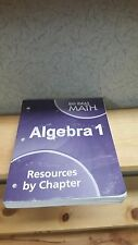 Big Ideas Math Algebra 1 Resources by Chapter SEE PICTURES NO WRITING! (E1-5)