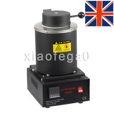 Automatic Melting Furnace Melt 2kg Silver & Gold Pour Bar Digital Temperature UK