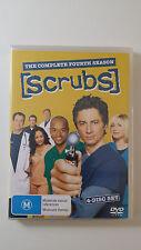 Scrubs - The Complete Fourth Season (4 Disc DVD) R4 - Eng, Italan, Frnch, German