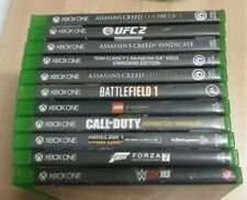 XBOX ONE GAMES 11x Games Forza UFC2 CALL OF DUTY ASSASSINS CREED LEGO MINECRAFT