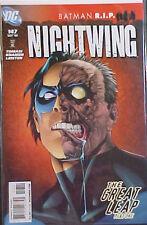 NIGHTWING #147! BATMAN R.I.P.!  2008 DC COMICS!