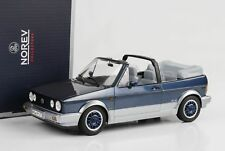 1 18 Norev VW Golf 1 Convertible bel Air 1992 Bluemetallic/silver