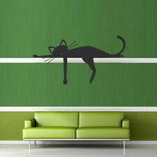 Wall Decal Sticker Vinyl Cat Animal Dream Funny Cheerful Cartoon bedroom M379
