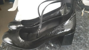 Rebecca Minkoff Heels - Mary Jane - Black Patent - Size 9.5