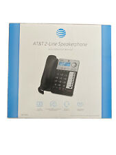 New listing At&T Ml17939 2 Line Office Caller Id Speakerphone Answering Phone w Headset Jack