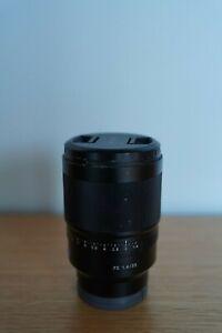 Sony 35mm f/1.4 ZA Lens