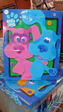 "Blue's Clues Gift Bag Med - LG 10 X 13 X 5"" Hallmark Expressions Nick Jr. 2001"