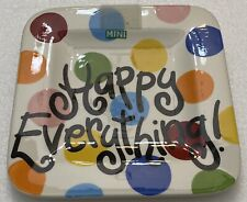Coton Colors Happy Everything 9.25� Mini Platter Plate Polka Dots