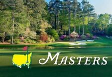 2019 Masters Tournament Golf Ticket - Grounds Badge - Tuesday Practice April 9th