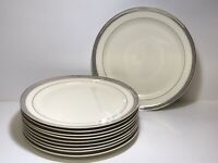 Vintage Taylor Smith And Taylor Premier Dinner Plates Sets Of 8