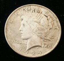 US  Peace Silver Dollar 1924 P ( 1921-1935)