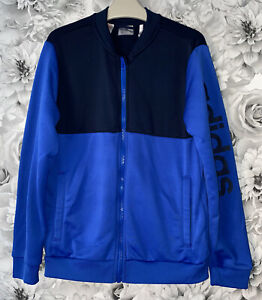 Boys Age 11-12 Years - Adidas Zip Up Tracksuit Top