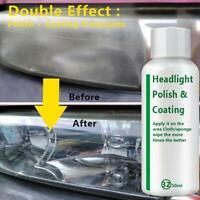 Car Headlight Polishing Fluid Restoration Kit Car Scratch Coating Repair C3S8