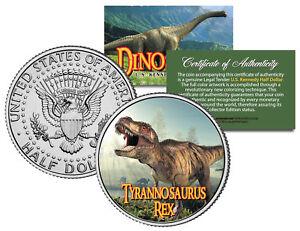 TYRANNOSAURUS T. REX * Collectible Dinosaur * JFK Half Dollar US Colorized Coin