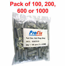Profix Nail Plug for Cable Clips Nails into Hard or Soft Walls 5x18mm OMQ2-03