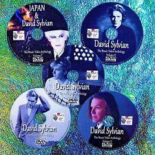 Pin & FREE JAPAN & DAVID SYLVIAN Music Video Collection 5 DVD Set 8.5 Hr 71 Vids