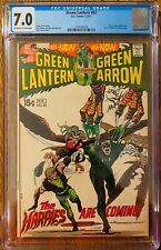 Green Lantern #82 CGC 7.0 OW/WP  (Black Canary Appearance) DC Bronze Age