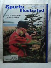 Sports Illustrated Magazine October 7 1963 ANTICOSTI ISLAND Best Deer Hunting