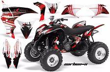 ATV Graphics Kit Quad Decal Sticker Wrap For Honda TRX700XX 2009-2015 CARBONX R