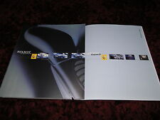 Renault Espace & Grand Espace Large format Brochure 2001 - 86 pages