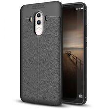 Huawei Mate 10 Pro Leder Look Handy Hülle von NALIA, Silikon Cover Case Schutz