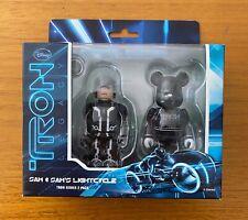 Medicom Kubrick 100% Disney Tron Legacy Sam & Sam's Lightcycle - 2 Pack
