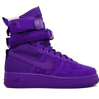 NIKE SF AF1 Special Air Force 1 One High Boot Court Purple 864024-500 size 10