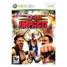 Pal version Microsoft Xbox 360 TNA Impact