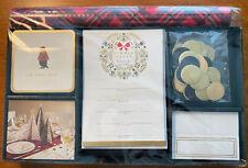 Hallmark 5CZE1849 Hostess Set Holiday Christmas Decorations ~ Classic Plaid