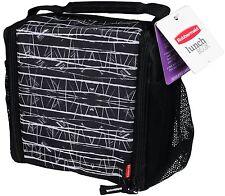Rubbermaid  Lunch Blox medium durable bag - Black Etch , New, Free Shipping