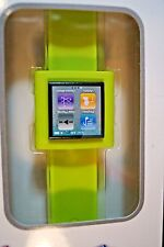 NEW AXION WRISTWATCH SLAP ON BAND FOR IPOD NANO 6TH GENERATION GREEN AN-1116