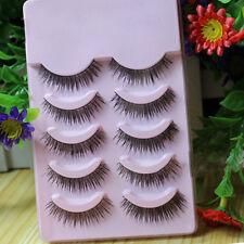 5*Faux-Cils Maquillage yeux charme féminin 1.2cm longue cadeau Beauté cosmétique
