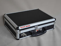Gun Case Pistol, Handgun Aluminum Framed Hard Case Combination Lock Safe Storage