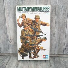 TAMIYA 35196 700 - 1:35 - Military Miniatures German Front line - OVP - #AJ44228