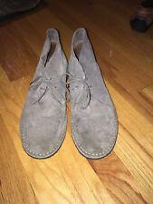J Crew Suede Grey Men's Boots 10