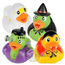 "Dozen 2"" Halloween Rubber Duckies Favor Party Gift Bag Fillers Prizes Assortment"