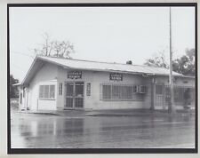 "RARE 'CORNER SAIMIN' RESTAURANT WAHIAWA 1981? 8x10"" ORIGINAL HAND PRINTED PHOTO"