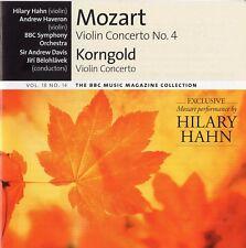 BBC Music - Vol.18 No.14 / Korngold & Mozart - Violin Concertos