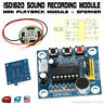 ISD1820 Voice Recording Playback Module Sound Recorder Board With Loudspeaker