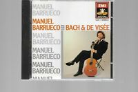 Manuel Barrueco plays Bach and Visée CD, Nov-1993, EMI Angel