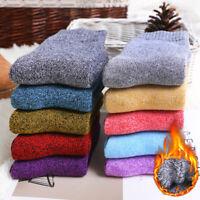 Women Socks Winter Thermal Thick Socks Cotton Breathable Outdoor Socks