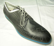 CESARE PACIOTTI US 11 LEATHER OXFORDS ITALIAN SHOES NIB