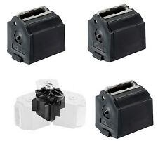 ONE SET NEW TriMag magazine connector & 3 Ruger 10/22 Black Magazines. Bin 203TM