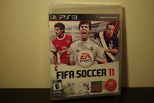 FIFA Soccer 11  (Sony Playstation 3, 2010) *New / Factory Sealed