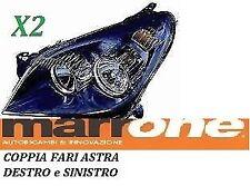 COPPIA FARI FANALE PROIETTORE H7-H1 ANT SX-DX OPEL ASTRA H DA 2004 A 2010 P/NERA