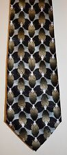 Necktie by The Nature Conservancy Silver Argiope Spider 100% Silk 10 Pic's