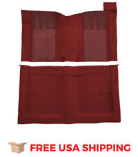 ACC FITS 1969-1970 Ford Ranchero GT 4spd with 2 Maroon Inserts Loop Carpet