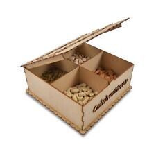 Chocolate Box Laser cut Home Decor Wedding/Return Gift Beautiful Serving Tray