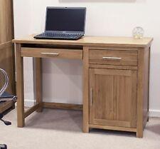 conran solid oak hidden home office. Boston Computer Desk Small PC Laptop Solid Oak Office Furniture Conran Hidden Home