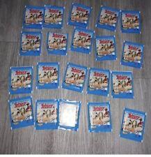 Lot de 20 pochettes de vignettes ASTERIX Panini Carrefour